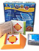 Puzzles Puzzles 3D Blocs de Construction Jouets DIY  Carré Loisirs