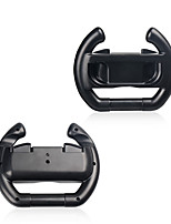 Wheel Steering Case For Switch Joy-Con Controller 2pcs (Set of 2) Black