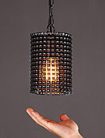 Single Head Post Modern Style Painting Black Color with the chain Chandelier Lamp for the House Decorate Pendant Lamp