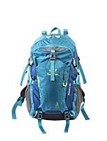 40 L Paquetes de Mochilas de Camping Multifuncional Azul Piscina