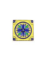 Dámské Brože Jedinečný design Obdélníkový Bohemia Style Smalt Slitina Square Shape Šperky ProSvatební Párty Zvláštní příležitosti