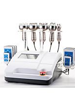 Color Touch Screen Ultrasonic Liposuction Cavitation Vacuum Bipolar Multipolar Radio Frequency RF & 8 Pads Diode Lipo Laser Slimming Machine