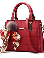 M.plus moda feminina xadrez ombro mensageiro crossbody sacos / tote bolsas