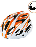 Men's Unisex Bike Helmet 18 Vents Cycling Cycling Mountain Cycling M:55-58CM L:58-61CM EPSWhite+Red White+Sky Blue Blue/Black (White