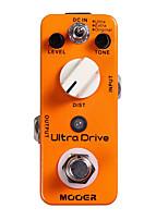 Mooer Ultra Drive Distortion Guitar Effect Pedal 3 Working Modes Original/Extra/Ultra Full Metal Shell True Bypass