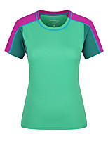 LEIBINDI® Women's Outdoor Summer T-Shirt Sport Cycling Breathable Quick Dry Running Shirt