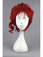 Short Curly JoJo's Bizarre Adventure-Kakyoin Noriaki Red 12inch Anime Cosplay Wig CS-177B
