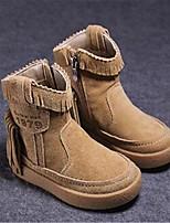 Черный Желтый-Мальчики-Повседневный-Полиуретан-На плоской подошве-Удобная обувь-Ботинки