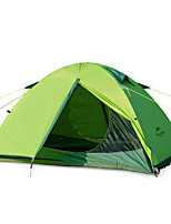 2 persons Tent Double Fold Tent One Room Camping Tent Aluminium Nylon Foldable Keep Warm-Camping