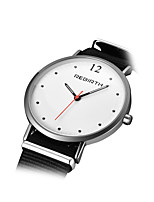 REBIRTH® Women's Fashion Watch Chinese Quartz Nylon Band Black Red Green