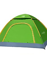3-4 persons Tent Single One Room Camping Tent 1000-1500 mm Waterproof Windproof Dust Proof-Camping / Hiking Hunting Fishing Climbing