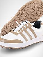 Sapatos Casuais Sapatos para Golf Homens Anti-Escorregar Anti-Shake Almofadado Anti-desgaste Respirável Ao ar Livre Cano Baixo Borracha