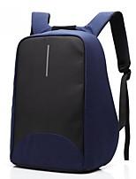 15,6 polegadas laptop costura negócio pano de nylon à prova d'água com usb carregamento mochila porta notebook notebook para dell / hp /