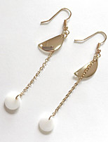 Drop Earrings Euramerican Fashion Alloy Circle Geometric Gold Jewelry For Daily 1 Pair