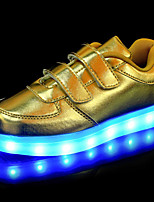 Kids Boy's Gril's LED Light Up Luminous Light Up ShoesGlowing Shoe Leatherette Outdoor Athletic Casual Low Heel Magic Tape LED