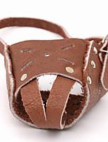 Dog Bark Collar Anti Bark Solid Genuine Leather