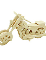 Jigsaw Puzzles 3D Puzzles Building Blocks DIY Toys Motorcycle Wood Model & Building Toy