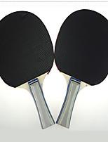 Ping Pang/Table Tennis Rackets Ping Pang/Table Tennis Ball Ping Pang Wood Long Handle Pimples 2 Rackets 3 Table Tennis BallsIndoor