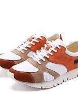 Оранжевый Серый Зеленый-Для мужчин-Для прогулок Повседневный Для занятий спортом-Резина Тюль ПолиуретанУдобная обувь-Кеды