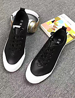 Men's Sneakers Light Up Shoes Couple Shoes Cotton Fabric Casual Black White