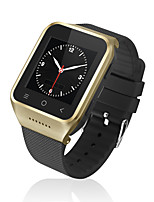 Yy s8 smartwatch display curvo mtk6572 com bluetooth 4,0 câmera stand sim card tf facebook twitter inteligente despertador para android /