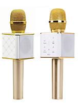Unbranded Беспроводной Микрофон для караоке USB Золотистый
