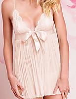 Women's Lace Lingerie Nightwear,Lace Solid-Thin Spandex Women's