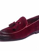 Herren-Sneakers Frühling Komfort Fleece Tüll lässig rot gelb grau schwarz