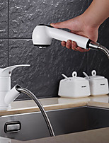 High Quality Brass Painting Single Handle One Hole Rotatable Kitchen Sink Faucet