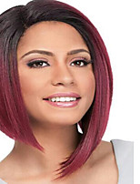 Fashion Black Color Straight BOBO Wigs For Afro European Synthetic Wig