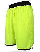 Men's Running Shorts Summer Polyester Outdoor clothing Activewear