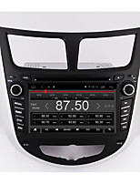 Bonroad 7 quad core 1024 * 600 android 6.0 carro dvd gps player para solaris verna acento carro pc headunit carro rádio vídeo player