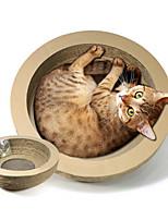 Игрушка для котов Игрушки для животных Интерактивный Прочный Когтеточка Бумага
