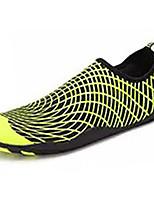 Черный Светло-Зеленый-Для мужчин-Повседневный-Резина-На плоской подошве-Удобная обувь-Мокасины и Свитер