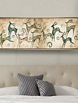 Art Print Animal Modern One Panel Horizontal Print Wall Decor For Home Decoration
