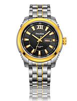 Мужской Модные часы Механические часы С автоподзаводом Нержавеющая сталь Группа Серебристый металл