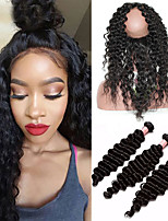 One Pack Solution Монгольские волосы Крупные кудри 12 месяцев 4 предмета волосы ткет