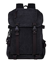 Men Canvas Casual Backpack All Seasons