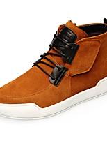 Men's Sneakers Spring Comfort Suede Casual Brown Gray Black