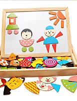 Конструкторы Обучающая игрушка Деревянные пазлы Для получения подарка Конструкторы Хобби и досуг Квадратная Дерево 2-4 года 5-7 лет