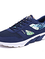 Men's Sneakers Ankle Strap Tulle Summer Casual Blue Gray Black 1in-1 3/4in