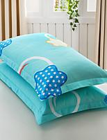 Floral Duvet Cover Sets 2 Piece Cotton Poly/Cotton Pattern Reactive Print Cotton Poly/Cotton Queen 2pcs Shams