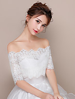 Women's Wrap Shrugs Lace Wedding Party/Evening
