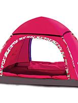 LYTOP/飞拓 2 personnes Abri et Toile Unique Tente automatique Une pièce Tente de camping Fibre de verre OxfordEtanche Respirabilité