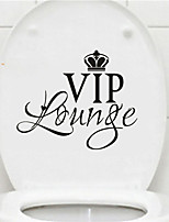 AYA DIY Funny Toilet Stickers VIP Lounge