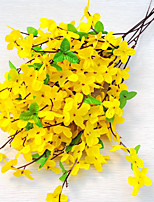 5 Branch Orchid Winter Jasmine Artificial Flowers