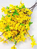 5 Une succursale Soie Fleurs artificielles