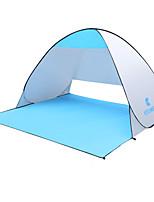 2 Pessoas Tenda Único Tenda Automática Um Quarto Barraca de acampamento 1500-2000 mm FerroÁ Prova de Humidade Prova de Água