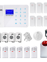 Danmini Touch Key Gsm Wireless Home Automatic Telephone Sms Alarm System Mobile Phone Control