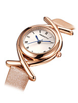 REBIRTH® Women's Fashion Watch Quartz Alloy Band Black White Blue Pink Rose Gold